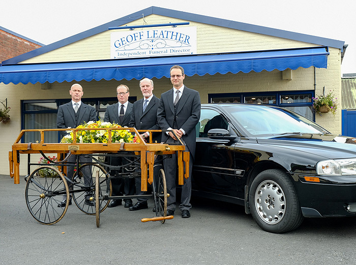 Geoff leather Independent Funeral Directors